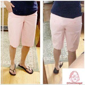 5/$25 Body by Victoria Khaki Bermuda chino shorts